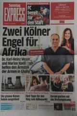 Artikel im EXPRESS über Operation Hernia Köln 15.Januar 2017
